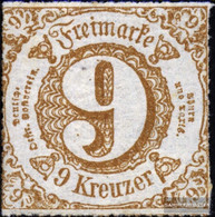 Thurn And Taxis 44II, Type II, S About Television With Hinge 1865 Paragraph - Tour Et Taxis