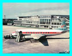 A743 / 447 Avion Cambrian BAS Viscount G-AMOO At Manchester Airport 1969 - 1946-....: Modern Era