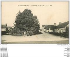 49 ECUILLE. Carrefour Du Bon Coin Animé - Altri Comuni