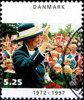 Danemark Poste Obl Yv:1147 Mi:1145 Reine Margrethe (Beau Cachet Rond) - Used Stamps