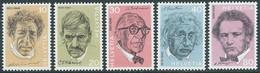 1972 SVIZZERA PERSONAGGI CELEBRI MNH ** - RD17-9 - Unused Stamps