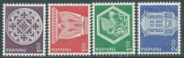 1974 SVIZZERA ARCHITETTURA E LAVORI ARTIGIANALI MNH ** - RD20-2 - Unused Stamps
