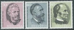 1974 SVIZZERA UPU EFFIGI DI PERSONALITA MNH ** - RD20 - Unused Stamps