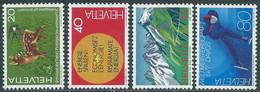 1976 SVIZZERA PROPAGANDA MNH ** - RD20-4 - Unused Stamps