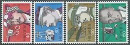 1977 SVIZZERA PIONERI DELL'AVIAZIONE MNH ** - RD20-4 - Unused Stamps