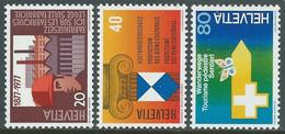 1977 SVIZZERA PROPAGANDA MNH ** - RD20-6 - Unused Stamps
