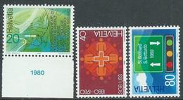 1980 SVIZZERA PROPAGANDA MNH ** - RD20-8 - Unused Stamps