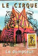 """"""" CIRQUE : LE DOMPTEUR """" Sur Carte Maximum De 2008 N°YT 4219. Parfait état CM - Zirkus"""