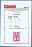 PAKISTAN 2020 - Combat Breast CANCER It Can Be Cured, Disease Health, Brochure Leaflet BLANK - Pakistán