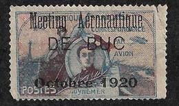 """France  Vignette Guynemer Surchargée  """" Meeting Aéronnautique  De Buc Octobre 1920 """"  Neuf  AB   Soldé ! ! ! - Luftfahrt"""