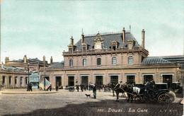 Thematiques 59 Nord Douai  La Gare - Douai