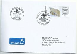 Vignette D'affranchissement IAR - ATM - Ours Polaire - FDC - FDC
