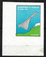 Concorde Vignette Satolas Le  19/04/1975 Coin De Feuillet Emis Neuf (*)  TB Soldé  ... ! ! ! - Concorde