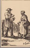 C.P. - PAYSANS DE FRANCE - 821 - MARCHAND DE CANARD - G. BARRE - - Campesinos