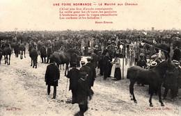 Thematiques 50 Manche Lessay Une Foire Normande Le Marché Aux Chevaux - Ohne Zuordnung