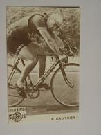 CARTE POSTALE CYCLISME-COUREUR B GAUTHIER BUT CLUB LE MIROIR DES SPORTS-ANIMEE - Ciclismo
