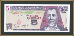 Guatemala 5 кетсalei 2006 P-106 (106b) UNC - Guatemala