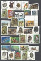 50 TIMBRES TANZANI - Tanzania (1964-...)