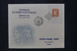 FRANCE - Enveloppe FDC En 1949 - Citex - L 78022 - ....-1949