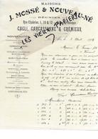 13 - Bouches-du-rhône - AIX-EN-PROVENCE - Facture CAGLI, CARCASSONNE & CREMIEUX - Nouveautés, Etc - 1906 - REF 174B - 1900 – 1949