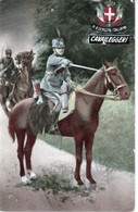 CAVALIER  ITALIEN  (  CAVAILLEGGERI   )  CPA. ( 20 / 11 / 261. ) - Oorlog 1914-18