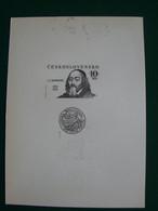 CARTE PHILATELIQUE J.A. KOMENSKY 1992 - Sin Clasificación