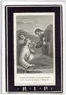DP 3469 EMILE GERADON - DECEDE A FONTAINE 1875 - Devotieprenten