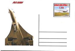 CONCORDE AIRCRAFT With The Original Brand Equatorial Guinea RARE - Concorde