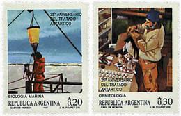 Ref. 36455 * NEW *  - ARGENTINA . 1987. 25th ANNIVERSARY OF THE TREATY OF  ANTARCTICA. 25 ANIVERSARIO DEL TRATADO DE LA - Nuovi