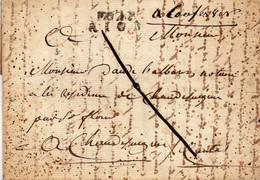 P. 62 P. RIOM,24X8mm,L.A.C. D'avril 1811. - 1801-1848: Voorlopers XIX