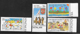 Cyprus (Turkish Posts) 1996 Anniversaries And Events 4v MNH - Nuovi