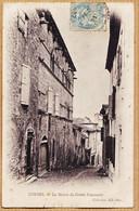 B81071 CORDES Hotel De Ville Maison Du GRAND-FAUCONNIER 1900 à André BARTHES 15 Rue Du Temple Castres-NEURDEIN 51 - Cordes