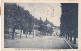 Luxembourg : DIEKIRCH : L'Esplanade Avec Pavillon Du Mosaïque Romain : - Diekirch