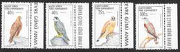 Cyprus (Turkish Posts) 1997 Birds Of Prey 4v MNH - Nuovi