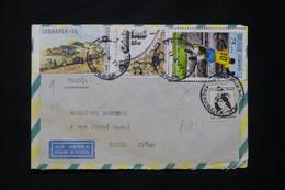 BRÉSIL - Enveloppe De Sao Paulo Pour Paris En 1973, Affranchissement Varié - L 78046 - Cartas