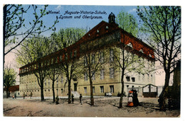 Cpa, MEMEL, AUGUSTE-VICTORIA-SCHULE, CYCEUM UND OBERLYCEUM - LITUANIE  /n 205 - Lithuania