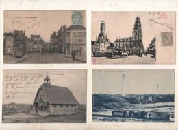 Superbe Lot De 129 CPA  Du Pas De Calais   62 - 100 - 499 Postkaarten