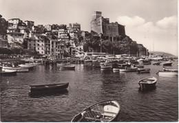 LERICI - IL PORTO, SULLO SFONDO IL CASTELLO - NAVI SHIPS BARCHE - VIAGGIATA 1964 - Otras Ciudades
