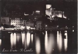 LERICI - PANORAMA NOTTURNO E CASTELLO VISTI DAL MARE - VIAGGIATA 1960 - Otras Ciudades