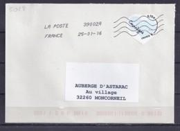 TP N° 5028 SUR LETTRE DU 25.1.16 - 1961-....