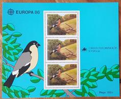 Açores - YT BF N°7 - Europa / Protection De La Nature Et De L'environnement - 1986 - Neuf - Azores