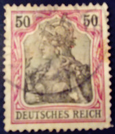 Allemagne Germany Deutschland 1902 Sans Filigrane Yvert 74 O Used - Gebraucht