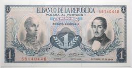 Colombie - 1 Peso Oro - 1964 - PICK 404b.6 - NEUF - Kolumbien