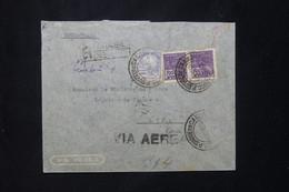 BRÉSIL - Enveloppe De L 'Ambassade De France En Recommandé Pour La Légation De France à Lima En 1940 - L 78055 - Briefe U. Dokumente