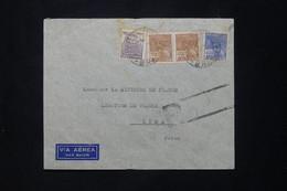 BRÉSIL - Enveloppe De L 'Ambassade De France En Recommandé Pour La Légation De France à Lima En 1942 - L 78059 - Briefe U. Dokumente
