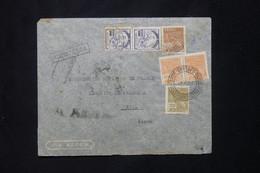 BRÉSIL - Enveloppe De L 'Ambassade De France En Recommandé Pour La Légation De France à Lima En 1941 - L 78060 - Briefe U. Dokumente