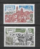 EUROPA CEPT FRANCE ( N° 1928/1929) NEUF** - 1977