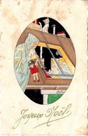 Thematiques Joyeux Noël  Datée Main 1934 - Santa Claus