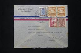 EQUATEUR - Enveloppe De La Légation De France Pour La Légation De France à Lima En 1941 - L 78068 - Equateur