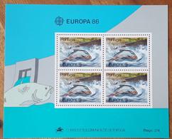 Portugal - YT BF N°51 - Europa / Protection De La Nature Et De L'environnement - 1986 - Neuf - Blocks & Kleinbögen